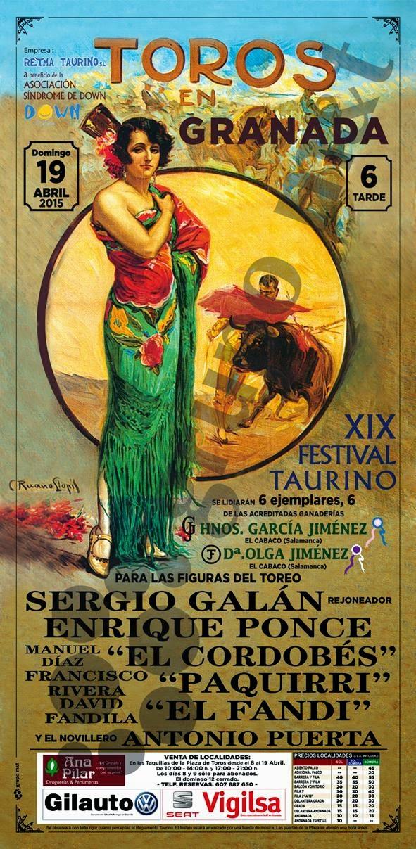 XIX Festival Taurino Granada