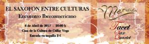 El Saxofón entre Culturas (Encuentro Iberomaricano) @ Casa de la Cultura de Cúllar Vega