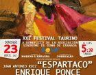 La BMFM de Cúllar Vega en el XXI Festival Taurino Down Granada