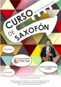 Curso Saxofón @ Asociación Musical Cúllar Vega
