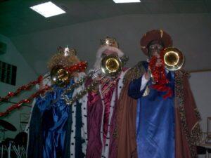 Trombones magos en Navidad