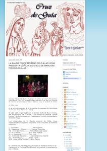 Cruz de Guía pressentaon cd marchas Marchas Procesionales 2013