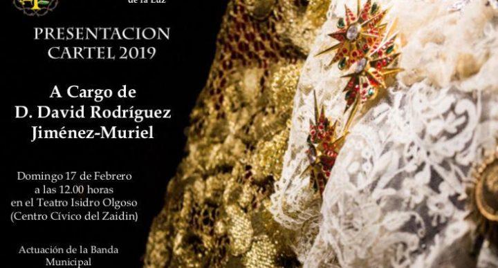 Presentación Cartel 2019 Hermandad Cristo del Trabajo y Nuestra Señora de la Luz