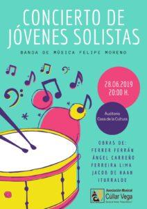 Concierto de Jóvenes Solistas de la BMFM @ Casa de la Cultura de Cúllar Vega